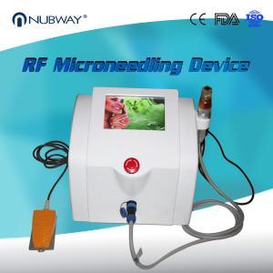 Nubway Scar Removal Skin Tightening Fractional RF Micro Needle Machine