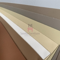 Buy cheap Thickness 2.0mm Furniture Upholstered Micro Fiber Leather Lichee Grain from wholesalers