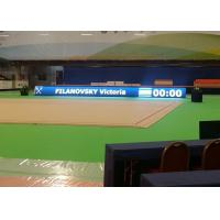 Cheap 2000Hz P6 Ads Led Signs In Basketball Stadium , Sports Ground Advertising Boards for sale
