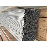 Cheap Round Thin Aluminium Tubes Alloy 3000 Series For Evaporator / Condenser / Connection Tube for sale