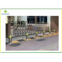 Cheap Hydraulic Automatic Rising Bollards Stainless Steel Security Gate System for sale