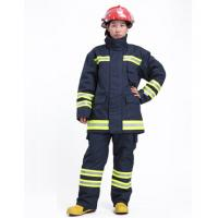 Cheap OEM EN469 Certified Firefighter Uniform Flame Retardant Clothing with Dupont  Nomex IIIA for sale