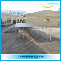 Cheap Aluminum Stage Frame Metal Folding Mobile Stage Supplier for sale