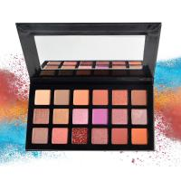 Buy cheap 18 Colors Eye Makeup Eyeshadow Matte / Glitter Star Style Waterproof Easy from wholesalers