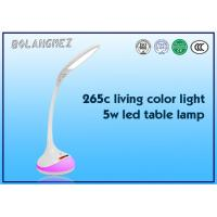 Cheap White Color touch Sensor LED Table Lamp with 256c living color and white light for sale