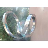 Buy cheap Modern Abstract Polished Stainless Steel Outdoor Metal Sculptures from wholesalers