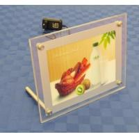China Table Acrylic Sign Holder , LED Illuminated - Clear,table backlit slim sign on sale