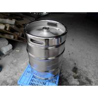 Cheap Large Stainless Steel Beer Keg Electro Polishing 15.5 Gallon Keg SGS FDA Certificated for sale