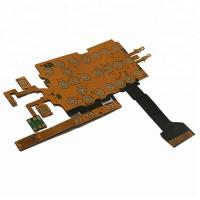 Cheap Keypad Membrane Flexible Printed Circuit Board Single Sided FPC Polyimide PCB for sale