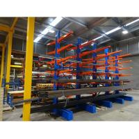 Cheap Custom Industrial Metal Scaffolding Warehouse Cantilever Sheet Rack For Rebar Storage for sale