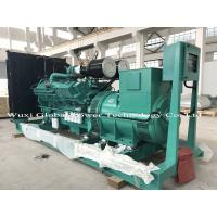Buy cheap Cummins KTA19 Series Open Diesel Genset with ABB switch , 440KW Standby Power from wholesalers