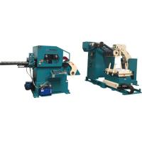 Cheap Pneumatic Decoiling And Straightening Machine For Aluminum Bronze Material Stamping , Pressing , Punching for sale