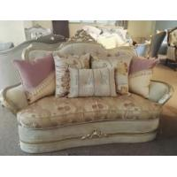 Cheap Wooden Frame Cushion Luxury Antique Chesterfield Sofa for sale