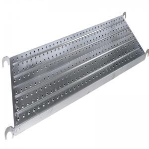 Cheap Heavy Load Frame Scaffolding Walk Boards Height 45/50/38mm SGS / ISO Certificate for sale