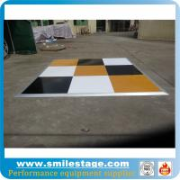 Cheap Interlocking movable portable folding dance flooring for sale
