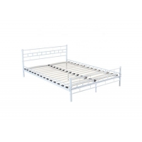 Cheap Antique Style ODM Design 0.8mm Steel Double Bed for sale