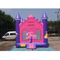 Cheap 13x13 outdoor kids party PrincessInflatable Bounce House with 18 OZ PVC Tarpaulin for sale