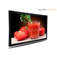 Cheap Full Color Wall Mounted Advertising Display , In Store Digital Signage for sale