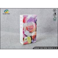 Cheap Embossing Paper Cosmetic Packaging Boxes CMKY Pantone Printing OEM Accepted for sale