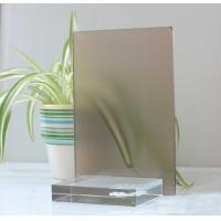 Cheap 10mm 12mm Float Glass Colored Frosted Glass Frameless For Home Decoration for sale