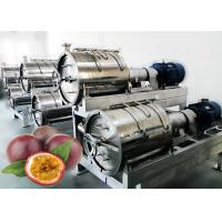 Cheap Beverage 440V 20T/H Passion Fruit Processing Machine for sale