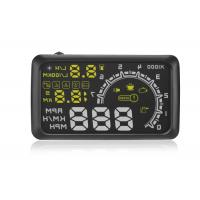 OBD2 Vehicle Heads Up Speed Display W02 5.5 Inch Rotating Speed 5000r RPM Alarm 5.5