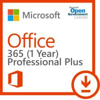 Cheap 5 PC Microsoft Office 365 Pro Plus Product Key 1 User 5 Tablet 5 Mobile Government for sale