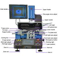 Quality wds-650 laptop chip repairing machine with infrared panel for tv ps3 ps4 desktop wholesale