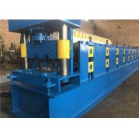 Cheap Guard Rail Crash Barrier Roll Forming Machine 27.5KW Hydraulic Punching Device for sale