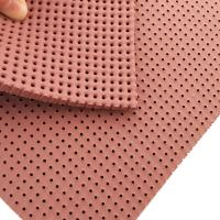 Cheap Washing Liquor Resistance Perforated Silicone Foam Pad for sale