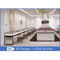 Cheap Modern White Wood Metal Display Showcase For Jewelry Store Size 1200X550X950MM for sale