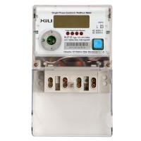 Cheap Multifunction Credit electric energy meter / Polycarbonate kilowatt hour meter AC 230 Volt for sale