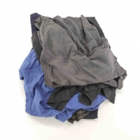 Cheap Painting Cleanning 25kg/Bale Polo Shirt Clothing Rags for sale