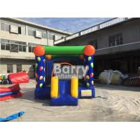 Cheap Digital Printing Balloon Inflatable Outdoor Bouncy Castle With Slide Good Tension for sale