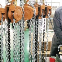 Buy cheap Professional3 Ton Manual Chain Block , Small Hand Chain Hoist hand chain block from wholesalers
