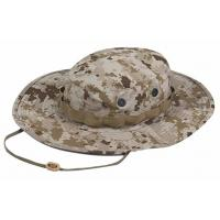 Cheap Quick Dry Military Boonie Hat With String , Army Boonie Cap For Outdoor Sports for sale