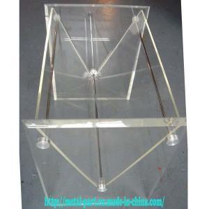 Cheap Acrylic Magazine Rack (MR-A-0043) for sale