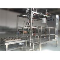 Cheap High Effect Aseptic Filling Machine Steam Juice / Jam Filling Machine SUS304 Material for sale