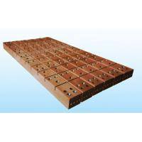 Cheap Copper mould plate for high speed and high efficiency Rectangular and plate CCM for sale