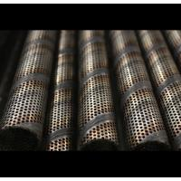 Cheap Durable Perforated Filter Tube For Enclosures , Partitions , Sign Panels , Guards , Screens for sale