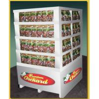 Cheap sales promotion cardboard display rack for bread for sale