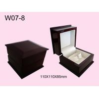 China Promotional Hand-Made Wooden Watch Box, Personalized Mens Watch Box on sale
