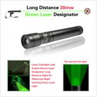 Cheap Long Distance Tactical Pistol Rifle Scope , Green Laser Sight With Metal Housing for sale