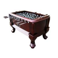 Classic Sport Foosball Table , Standard Foosball Table With Solid Wood Claw Leg