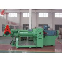 Green 132 Kw Rubber Strainer machine With Electrical Control Cabinet Manufactures