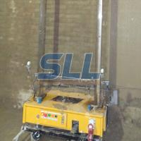 Cheap Higher Accuracy Building Plaster Machine , Mortar Plastering Machine Avoid Shaking Loose for sale