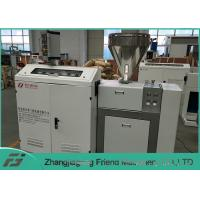 Buy cheap Long Lifespan Plastic Extruder Machine / Single Screw Extruder 50kg/H Capacity from wholesalers