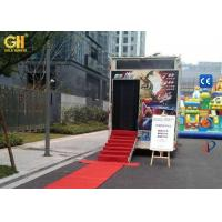 Cheap Truck Mobile 7D Cinema Ride Film Watching Theater 220V / 380V 10 KW for sale