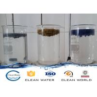 Paint dust flocculant for Spraying sewage treatment Clear liquid with light blue A B agent Manufactures