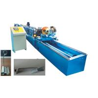 Cheap Bottom Profile Shutter Door Roll Forming Machine With 2.0mm Thickness for sale